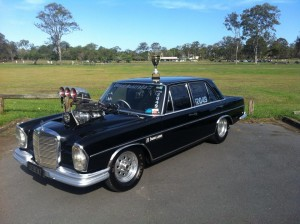 Diesel Australia Racing - Debenz with Trophy
